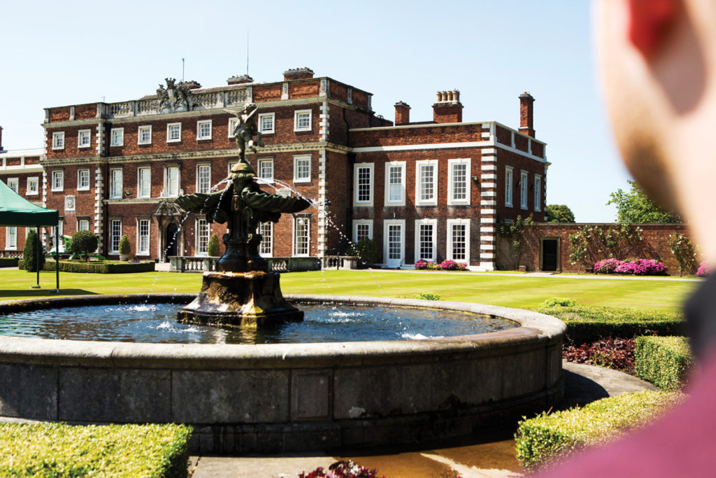 View of Knowsley Hall
