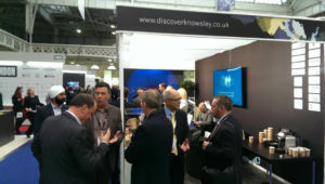 Knowsley's stand at MIPIM UK 2017