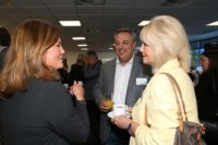 Lyndsay Tyer Suites Hotel Simon Robinson ACR Property and Lesley Martin Wright Knowsley Chamber of Commerce