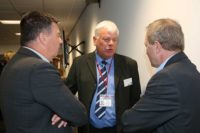 John Flaherty and Cllr Graham Morgan Knowsley Council and Mark Waire Bloor Homes
